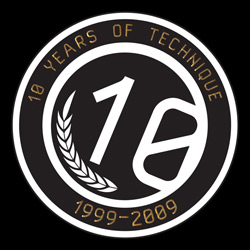 10 Years of Technique Logo
